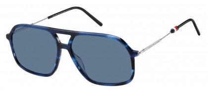 Tommy Hilfiger TH 1645/S AVS/KU Blue Havana - Blue