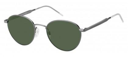 Tommy Hilfiger TH 1654/S R80/QT Dark Ruthenium - Green