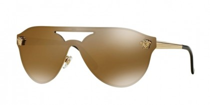Versace 0VE2161 1002F9 Gold - Brown Mirror Gold