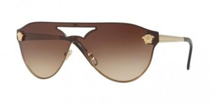 Versace 0VE2161 125213 Pale Gold - Brown Gradient
