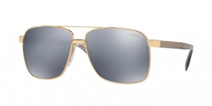 Versace 0VE2174 1002Z3 Gold - Dk Grey Mirror Silver Polar