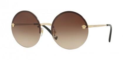 Versace 0VE2176 125213 Pale Gold - Brown Gradient