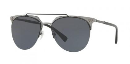 Versace 0VE2181 100187 Matte Black Gunmetal - Grey