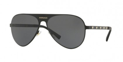 Versace 0VE2189 142587  Matte Black - Grey