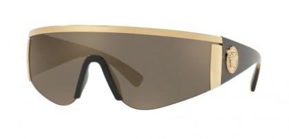 Versace 0VE2197 10005A Gold - Light Brown Mirror Gold