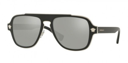 Versace 0VE2199 10006G Matte Black - Light Grey Mirror Silver