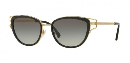 Versace 0VE2203 143811  Black Gold - Grey Gradient