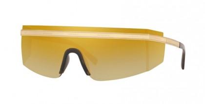 Versace 0VE2208 10027P Gold - Brown Mirror Gold
