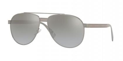 Versace 0VE2209 10016V Gunmetal - Light Grey Mirror Gradient Sil