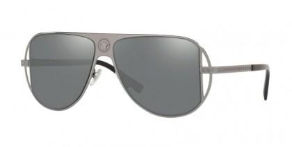 Versace 0VE2212 10016G Gunmetal - Grey Mirror Silver