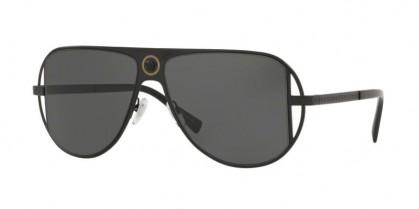 Versace 0VE2212 100987 Matte Black - Grey