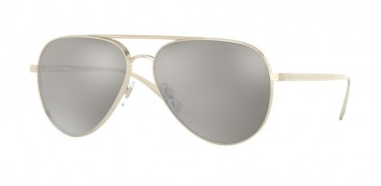Versace 0VE2217 12526G Pale Gold - Light Grey Mirror Silver 80