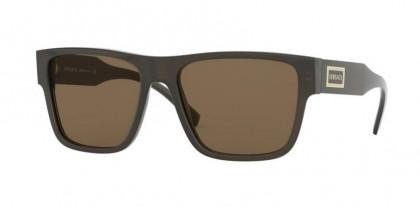 Versace 0VE4379 200/73 Transparent Green - Brown