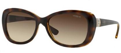 Vogue 0VO2943SB W656/13 Dark Havana - Brown Gradient