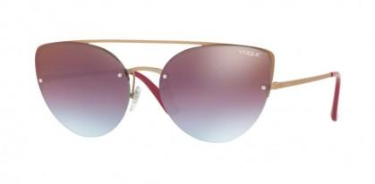 Vogue 0VO4074S 5075/H7 Matte Light Pink Gold - Azure Gradient Pink Brown Mirror Red