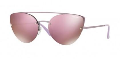 Vogue 0VO4074S 5076/5R Matte Pink - Dark Brown Mirror Pink