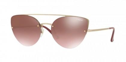 Vogue 0VO4074S 848/H8 Matte Pale Gold - Violet Gradient Brown Mirror Green