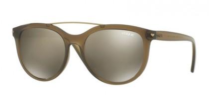Vogue 0VO5134S 25305A Opal Olive Green - Light Brown Mirror Dark Gold