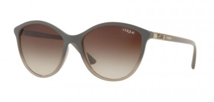Vogue 0VO5165S 255813 Opal Grey Gradient Grey - Brown Gradient
