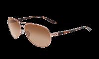 Oakley 0OO4079 FEEDBACK 4079-01 - Rose Gold / VR50 Brown Gradient