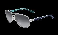 Oakley 0OO4079 FEEDBACK 4079-07 - Polished Chrome / Gray Gradient Polarized