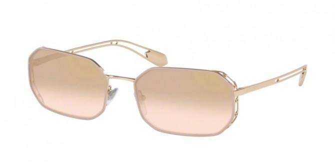 Bvlgari 0BV6125 20147I Pink Gold - Light Brown Mirror Grad Gold