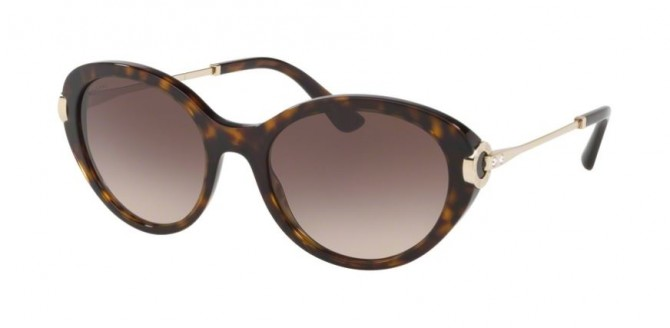 Bvlgari 0BV8216B 504/13 Dark Havana - Brown Gradient