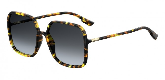 Christian Dior SOSTELLAIRE1 EPZ/1I Yellow Havana - Gray Brown Gradient
