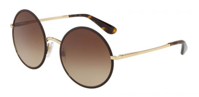 Dolce & Gabbana 0DG2155 132013 DNA Matte Brown - Brown Gradient