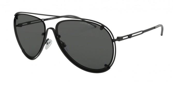Emporio Armani 0EA2073 300187 Matte Black - Grey