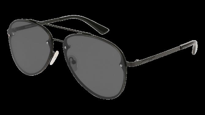 Mcq MQ0136S-001 Black - Grey Shiny