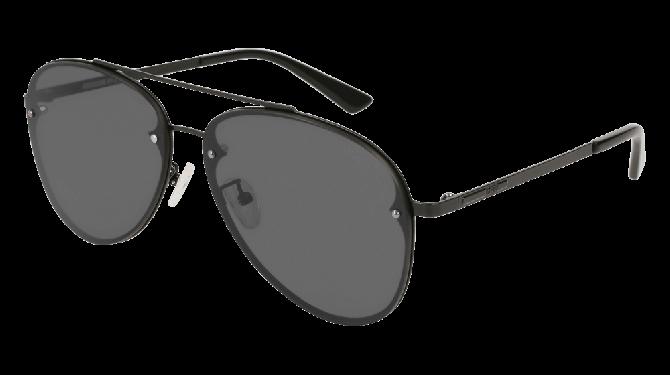 Mcq MQ0136S-007 Black - Grey Shiny