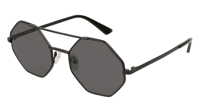 Mcq MQ0139S-005 Black - Grey Matte