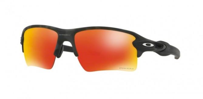 Oakley 0OO9188 FLAK 2.0 XL 918886 Black Camo - Prizm Ruby
