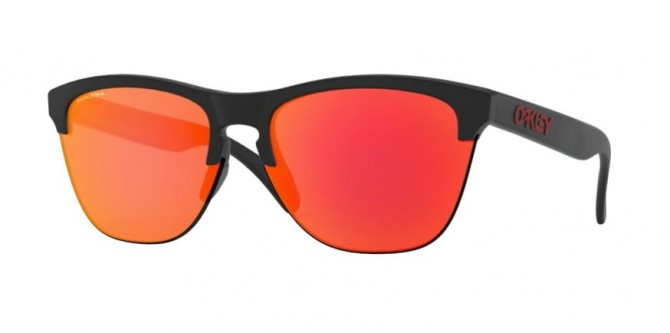 Oakley 0OO9374 937404 Matte Black - Prizm Ruby