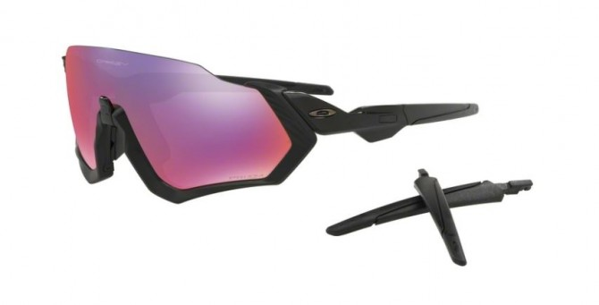 Oakley 0OO9401 FLIGHT JACKET 940101 Black - Violet Mirror