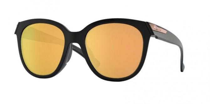 Oakley 0OO9433 LOW KEY 943305 Matte Black - Prizm Rose Gold Polarized