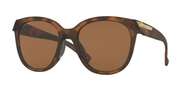 Oakley 0OO9433 LOW KEY 943306 Matte Brown Tortoise - Prizm Tungsten Polarized
