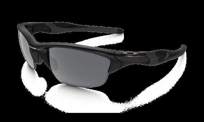 Oakley Polarized Half Jacket 2.0 9144-04 - Polished Black / Black Iridium Polarized