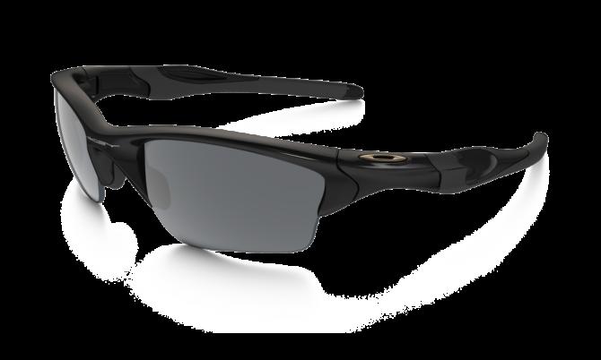 Oakley Half Jacket 2.0 XL 9154-01 - Polished Black / Black Iridium