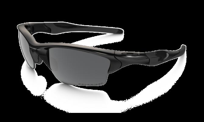 Oakley Polarized Half Jacket 2.0 XL 9154-05 - Polished Black / Black Iridium Polarized
