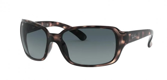 Ray-Ban 0RB4068 642/3M RB4068 Havana - Blue Gradient Grey