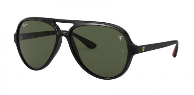 Ray-Ban 0RB4125M F60131 Black - Green