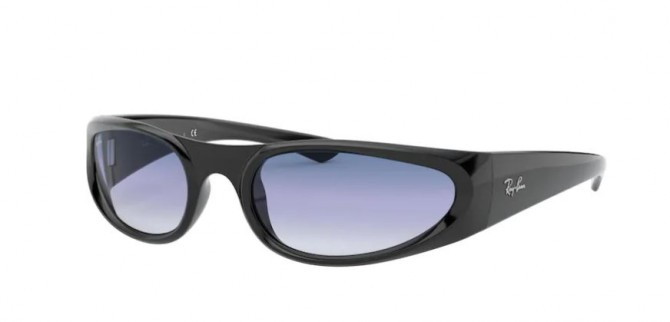 Ray-Ban 0RB4332 601/19 Black - Clear Gradient Light Blue