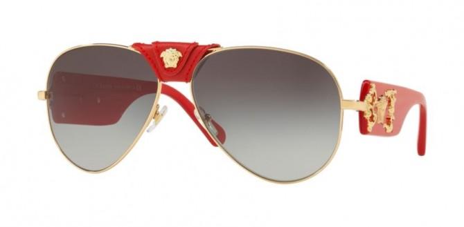 Versace 0VE2150Q 100211 ROCK ICONS Gold - Grey Gradient