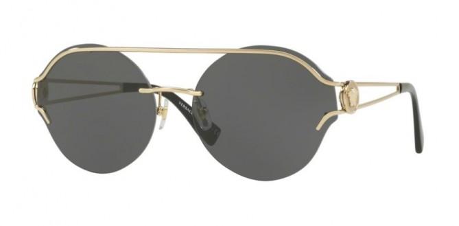 Versace 0VE2184 125287  Pale Gold - Grey