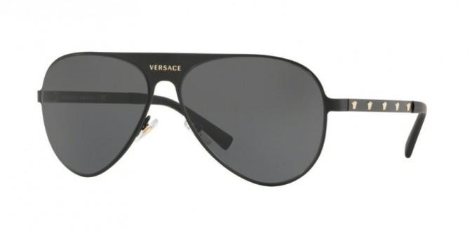 Versace 0VE2189 142587  Matte Black - Grey