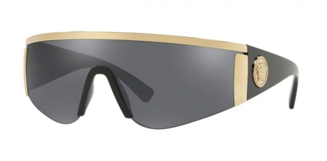 Versace 0VE2197 10006G Gold - Grey Mirror Silver