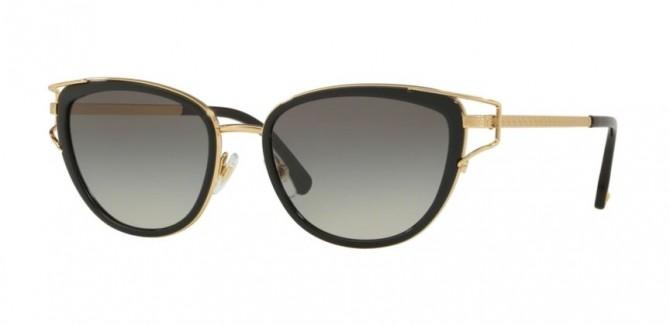 Versace 0VE2203 143811  Black Gold - Grey Gradient
