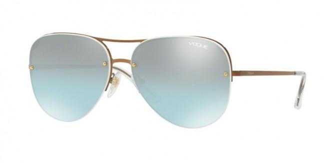 Vogue 0VO4080S 50747C Copper - Azure Gradient Mirror Black